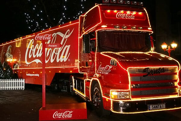 Coke-a-cola Lorry (1)