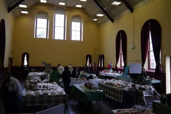 Ramelton Country Market, Town hall Ramelton (1)